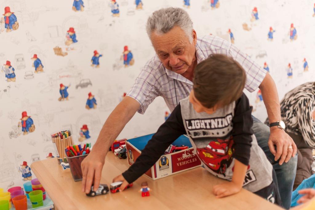 Grandparents Day in Acorns Aviatiei