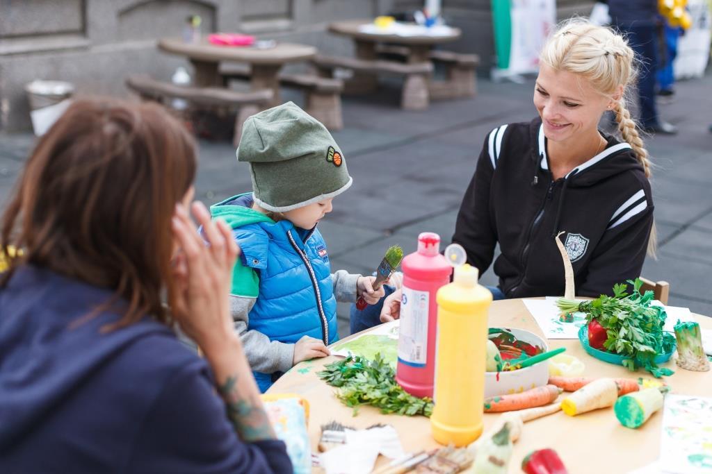 Health Fair, Acorns Garden